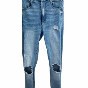 NEW Distressed Garage Jeans! Size 00